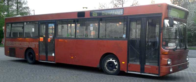 Bus MAN SL 202 — MO5352